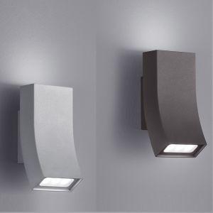 Up & Down LED-Wandleuchte Oka in zwei Farben