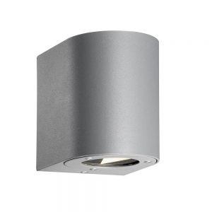 Up & Down-LED-Außenwandleuchte Canto in Grau grau