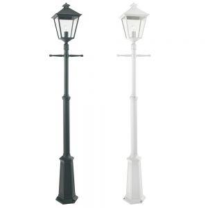 1-flammiger Laternenmast London in 2 Farben