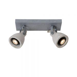 2-flg. LED-Deckenstrahler Concri von Lucide