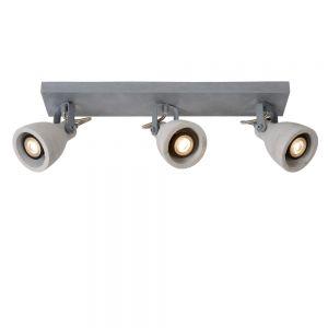 3-flg. LED-Deckenstrahler Concri von Lucide