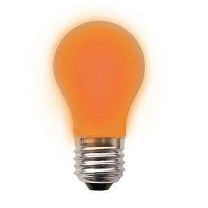 A60 LED 2W  in orange, dimmbar 1x 2,5 Watt, orange, 2,5 Watt