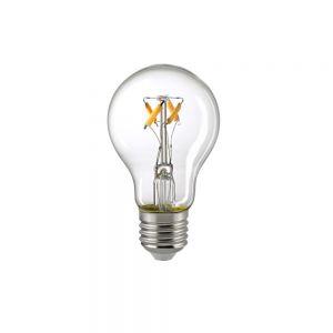 A60 LED Filament klar E27 5W 470lm 2700K Dim-To-Warm