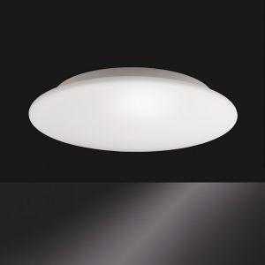 Allrounder-Deckenleuchte mit IP44 Schutzart, Glas Opal weiß, Ø 32cm 2x 42 Watt, 32,00 cm