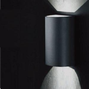 Up and Down - LED-Wandleuchte für Außen, Anthrazit