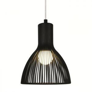 Aparte Pendelleuchte in schwarz in Ø 26 cm 1x 75 Watt, 34,00 cm, 26,00 cm
