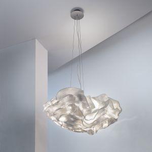 Arturo Alvarez Nevo in Weiß  Designer Pendelleuchte, Ø57cm 3x 12 Watt, 25,00 cm, 57,00 cm