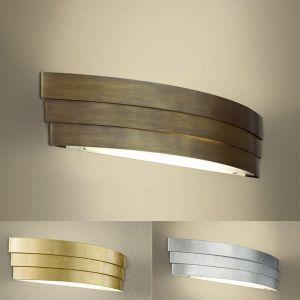 Attraktive LED-Wandleuchte,61 cm - 3 Oberflächen