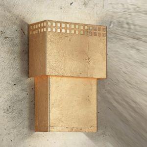 Attraktive Wandleuchte - 3 Oberflächen - Höhe 30 cm