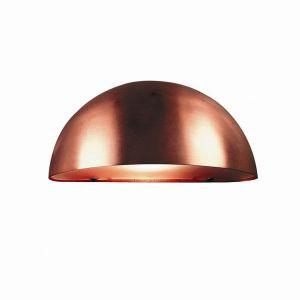 Außenwandleuchte Scorpius IP23 schlagfest, Halbkugel, Kupfer Kunststoff/Kupfer, kupfer