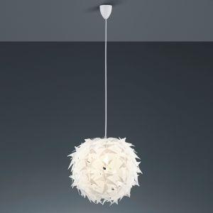 Aus weißem Kunststoff -Stilvolle Pendelleuchte