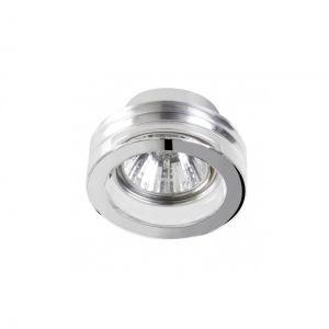 Badleuchte IP54, Einbauleuchte aus Glas in rund oder quadratisch wählbar