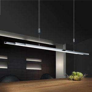Bankamp Pendelleuchte L-lightLINE Nickel-matt