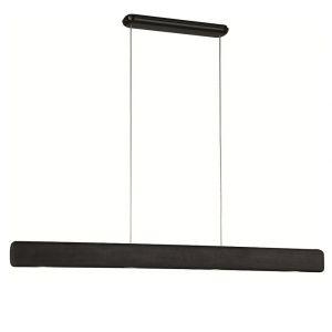 Bemerkenswerte LED-Pendelleuchte - Länge 129,90 cm -  schwarz
