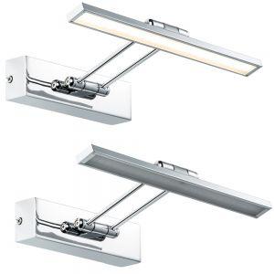 Bilderleuchte Beam Thirty - 29cm inkl. 5Watt LED - in Nickel gebürstet / Chrom chrom/nickel