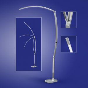 B-Leuchten gelenkige LED-Leseleuchte, Höhe 180cm 180,00 cm, 110,00 cm