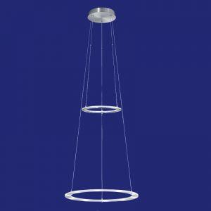 B-Leuchten höhenverstellbare LED-Pendelleuchte Ø50cm
