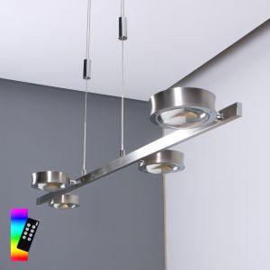 B-Leuchten LED Pendelleuchte Easy Light mit RGB-Farbwechsel