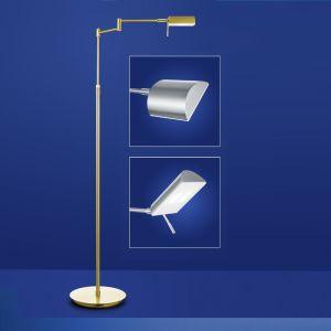 B-Leuchten LED Standleuchte Graz in messing oder nickel