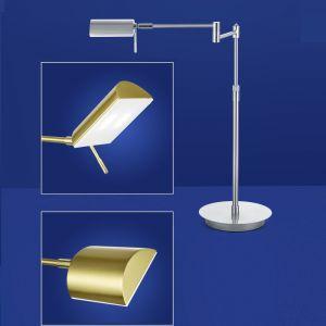 B-Leuchten LED Tischleuchte Graz in messing oder nickel