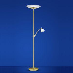 B-Leuchten LED-Fluter Falun Messing matt / poliert