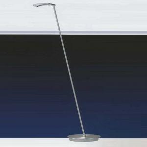 B-Leuchten LED-Stehleuchte in Nickel-matt