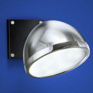 B-Leuchten LED-Wandleuchte in Chrom/Schwarz