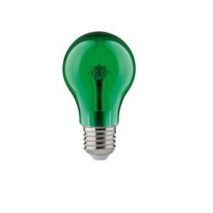 Buntes LED Leuchtmittel  1Watt  E27 A60 in grün grün