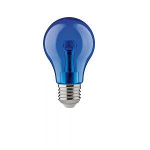 Buntes LED Leuchtmittel  1Watt  E27 A60 in blau blau