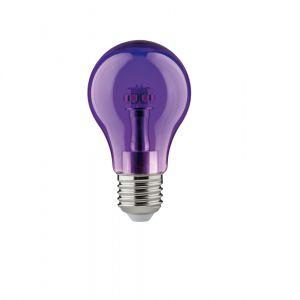 Buntes LED Leuchtmittel  1Watt  E27 A60 in  lila lila