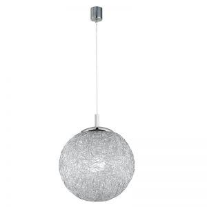Charismatische Kugelleuchte Aluminiumdrahtgeflecht Ø 30cm
