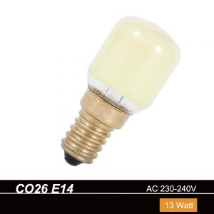 CO26  E14  Birnenform 13W  230V in Gelb