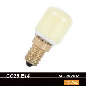 CO26  E14  Birnenform 13W  230V in Gelb