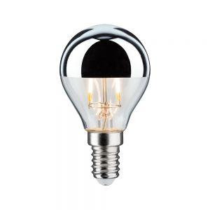 D45 LED 4,5W Kopfspiegel Silber E14 2700K 400lm dimmbar