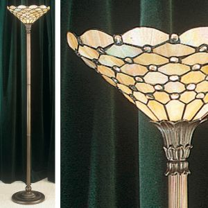 Deckenfluter Pearl im Tiffany Stil