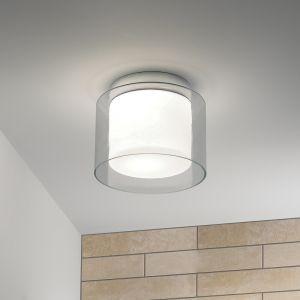 Deckenleuchte Arezzo Glas Weiß / klar 23 cm