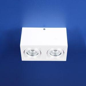 LHG Deckenleuchte ganz in weiß, inklusive Leuchtmittel