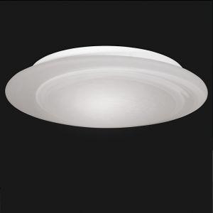 Deckenleuchte IP44, Alabasterglas 40cm 3x 42 Watt, 40,00 cm