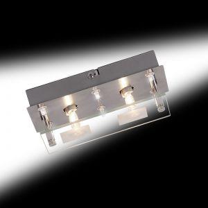 Deckenleuchte kombiniertes Halogen und LED Licht