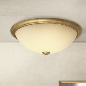 Deckenleuchte im Landhaus-Stil - Durchmesser 55 cm 3x 42 Watt, 55,00 cm