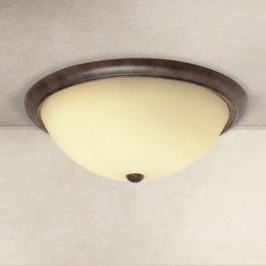 Deckenleuchte im Landhaus-Stil - Durchmesser 48 cm 3x 60 Watt, 48,00 cm
