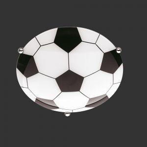Deckenleuchte mit Fußball-Motiv, 30cm
