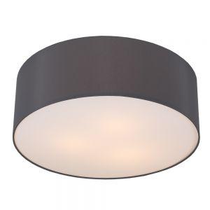 LHG Deckenleuchte mit Lampenschirm D=62cm Schiefer , schiefer