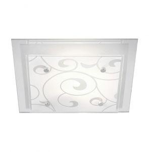 Deckenleuchte mit Ornamentik, 42 x 42cm 3x 60 Watt, 8,00 cm, 42,00 cm, 42,00 cm