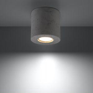 LHG Deckenleuchte Orbis beton inklusive Leuchtmittel