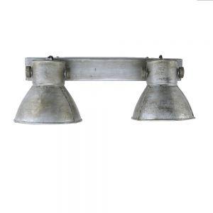 Deckenleuchte Samia, Industrie-Style, E27, LED geeignet, Vintage