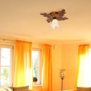 Deckenleuchte, florentiner Stil, Landhaus, rostbraun