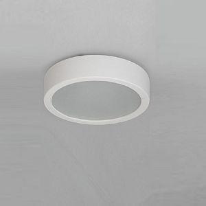 Deckenleuchte, Keramik, Weiß, rund, D=36cm 2x 60 Watt, 36,00 cm