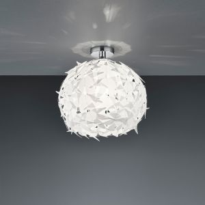 Deckenleuchte, Kunststoff, Weiß, für LED Leuchtmittel geeignet