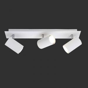 LHG Deckenstrahler schwenkbar, 3-flg. weiß + 1x Extra Leuchtmittel